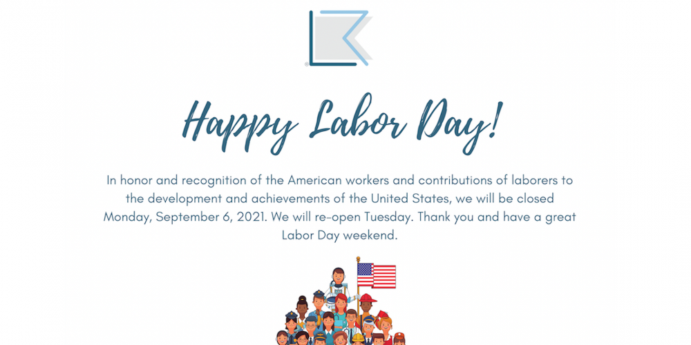 Liberty Rent Labor Day 2021